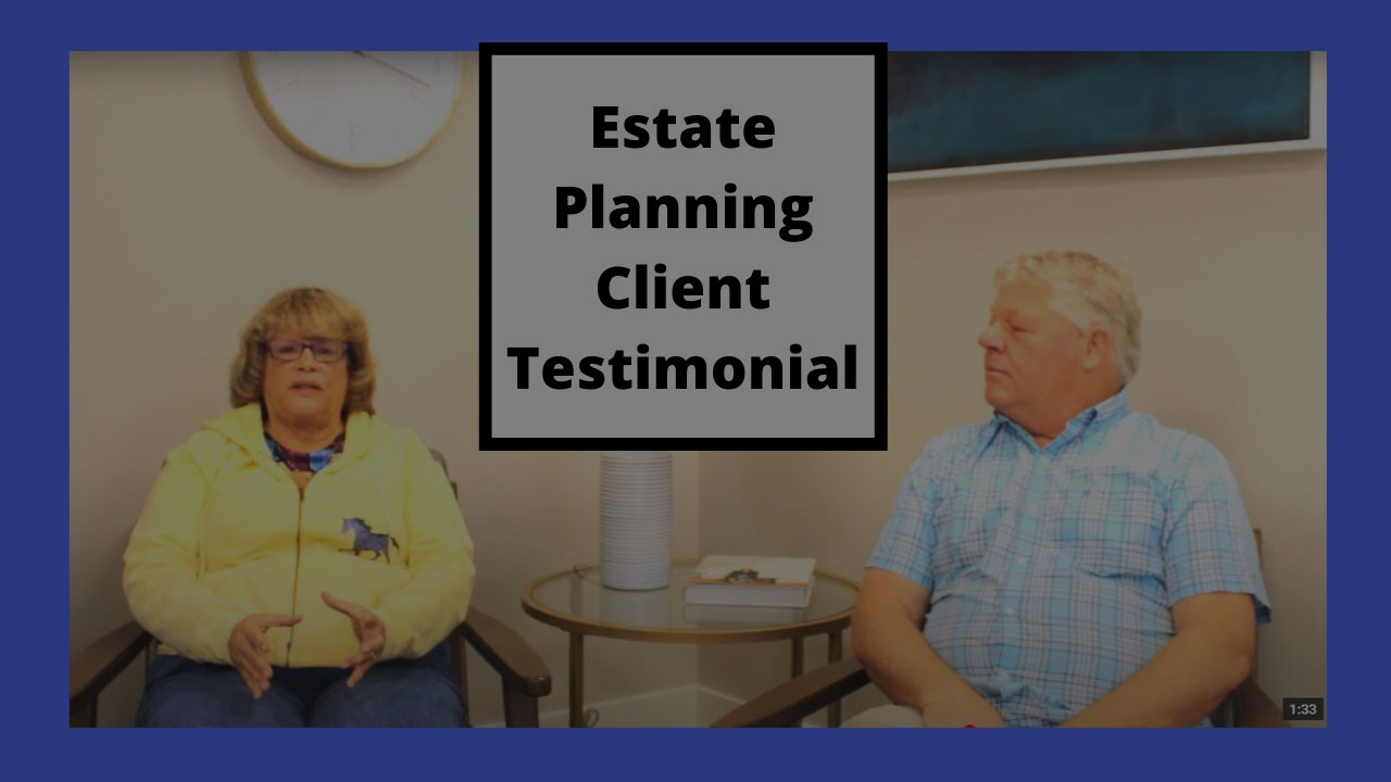 estate planning client testimonial preview image
