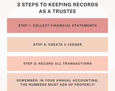 How to Keep Records as a Trustee