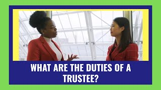 what-are-the-duties-of-a-trustee