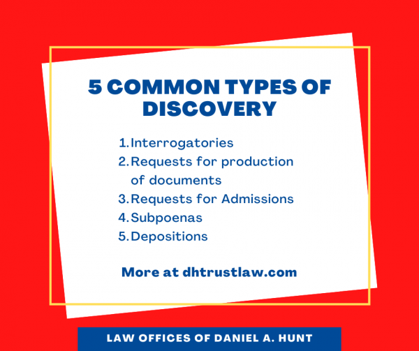 5 Types of Discovery in Trust Litigation