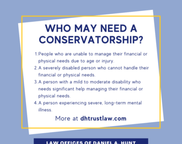 Who May Need a Conservatorship?