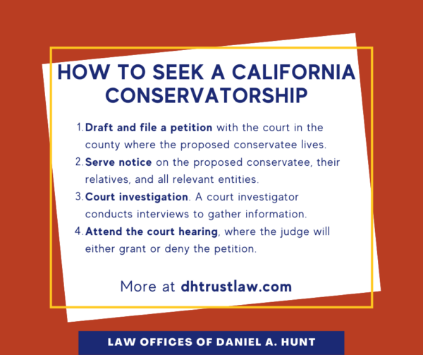 How to Seek a CA Conservatorship